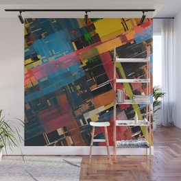 Abstract Composition 608 Wall Mural