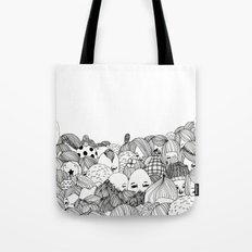 Human Jungle  Tote Bag