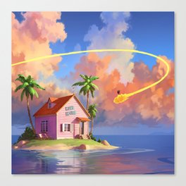 Kame House Canvas Print