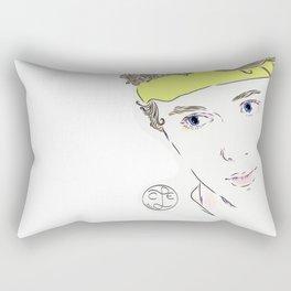 cute even Rectangular Pillow