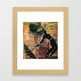 "Gloria J Zucaro's ""Multi One"" Framed Art Print"