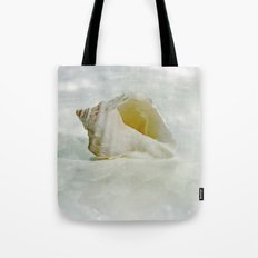 White Seashell Tote Bag