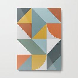 Abstract No. 7 Metal Print