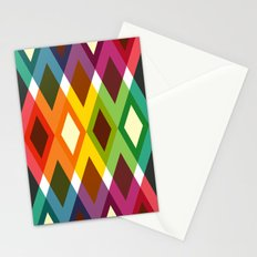 Geometric Pattern #19 (diamonds) Stationery Cards
