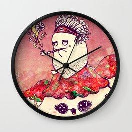 Borish and The Smoking Pipe Wall Clock