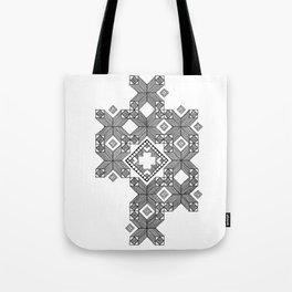 gridwork Tote Bag