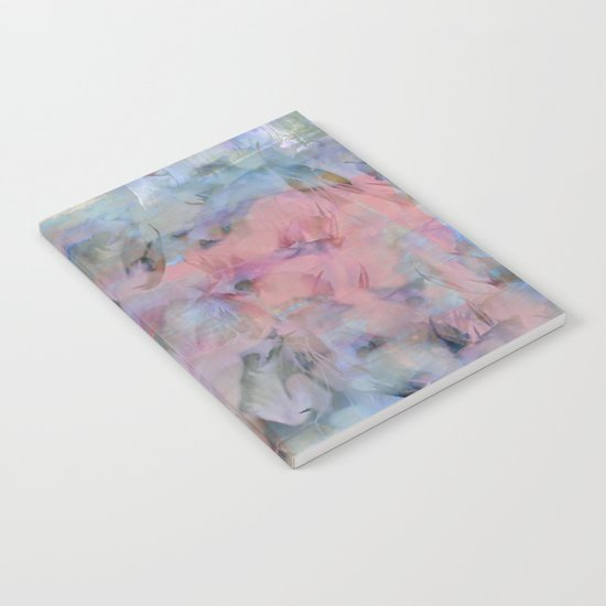 Painterly Soft Flora Abstract Notebook