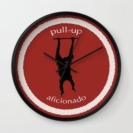 Pull-Up Aficionado Wall Clock