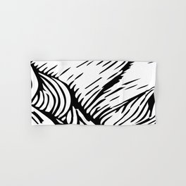 woodcut Hand & Bath Towel