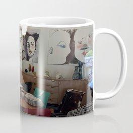 Window Shopping in La Clusaz Coffee Mug