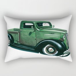 37 Chevy Rectangular Pillow