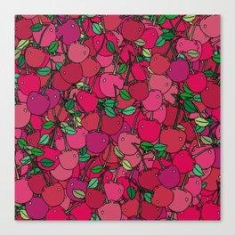 Cherry Mix Canvas Print