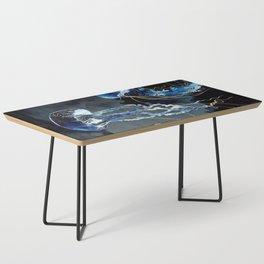 Metallic Ocean III Coffee Table