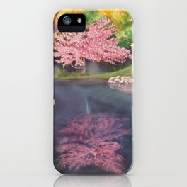 Spring Reflecion iPhone Case