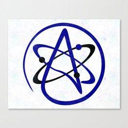 Atomic Atheism Canvas Print