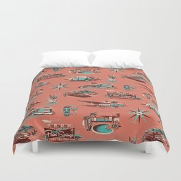 WELCOME TO PALM SPRINGS Duvet Cover