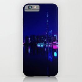 Cyberpunk Miami iPhone Case