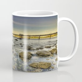 A Rocky Sunset Coffee Mug