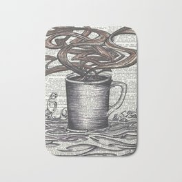 Waves of Roasted Goodness Bath Mat