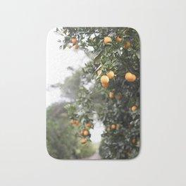 Ojai Oranges Bath Mat