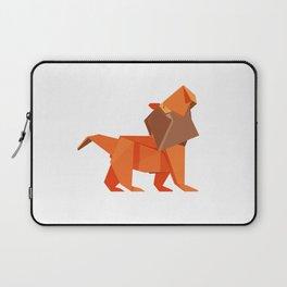 Origami Lion Laptop Sleeve
