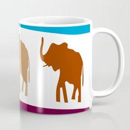 sumatera elephants Coffee Mug