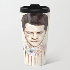 Castiel Metal Travel Mug
