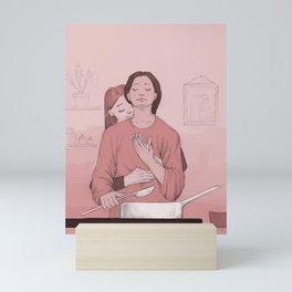 lovers' kitchen  Mini Art Print