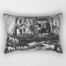 The Ruins Rectangular Pillow