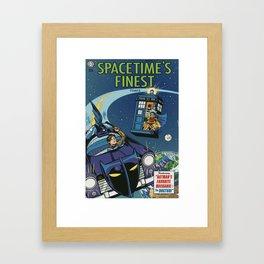Spacetime's Finest No. 1 Framed Art Print