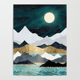 Ocean Stars Poster