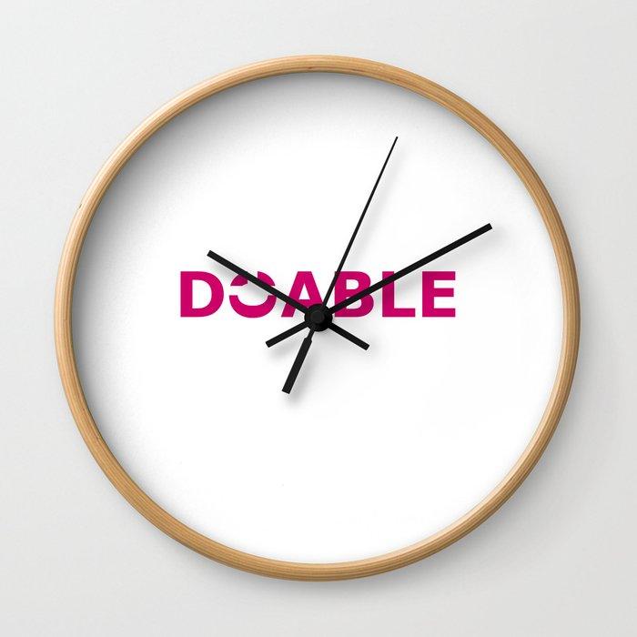 Doable II Wall Clock