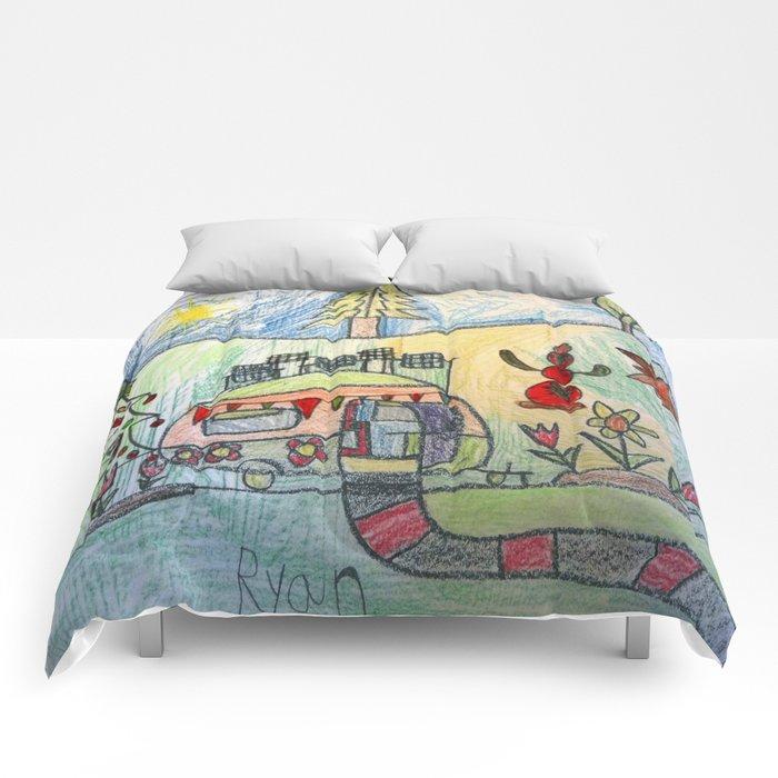 Christmas Camper Comforters