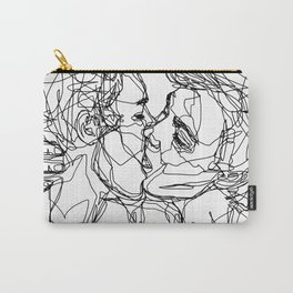 Boys kiss too Carry-All Pouch