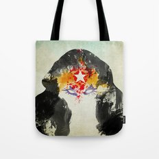 Muscle Girl Tote Bag