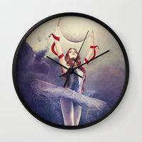 evolution Wall Clocks featuring Evolution by Kryseis Retouche