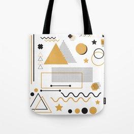Memphis Pattern Design Tote Bag