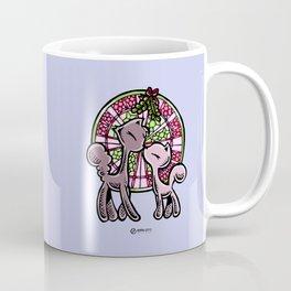 Skribbles + Sketches: Mistletoe Coffee Mug