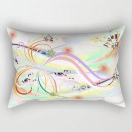 Abstrakt - Frühling 1 Rectangular Pillow