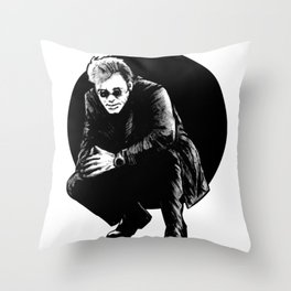 """H"" Throw Pillow"