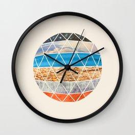 Eco Geodesic  Wall Clock