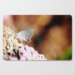 Gray Hairstreak Butterfly Cutting Board