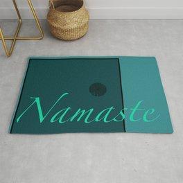 Namaste Blue Rug