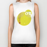 oz Biker Tanks featuring Welcome to Oz by Oh! My darlink