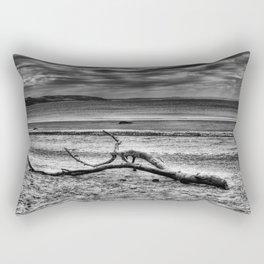Driftwood 4 mono Rectangular Pillow