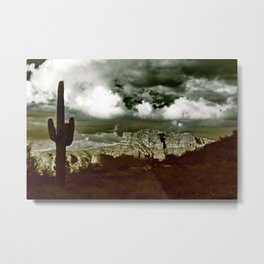 The Majesty of the Superstitions Metal Print