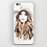 downton abbey iPhone & iPod Skins featuring Abbey by Esther Kang