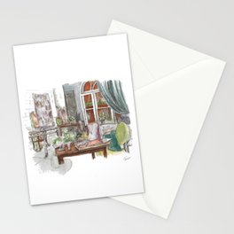 Will and Grace - Grace Adler Designs Studio Watercolor Painting Stationery Cards