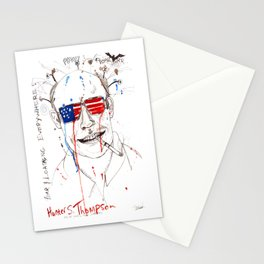 Hunter S. Thompson Stationery Cards
