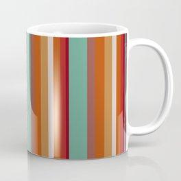 70s Retro Stripes Pattern Coffee Mug
